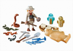 Il cantiere archeologico Playmobil